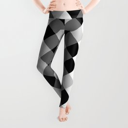 Chess Pattern | Strategy Tactic Board Game Leggings