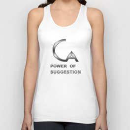 POWER OF SUGGESTION Unisex Tank Top
