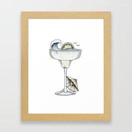 Summer Cocktail Framed Art Print