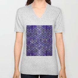 Glitter Tiles IV Unisex V-Neck