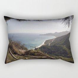 Taormina Bay of Sicily Rectangular Pillow