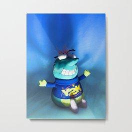 Y2K Bug Metal Print