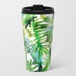 VIBE of the Jungle  {A-green} Travel Mug
