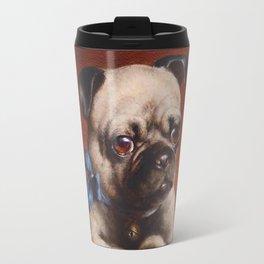The Pug - Carl Reichert Travel Mug