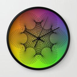Spirograph Wall Clock