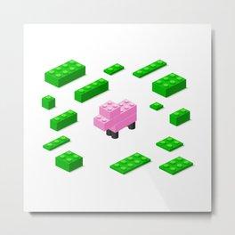 LEGOSHEEP Metal Print