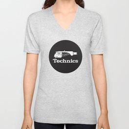 Technics SL-1210 - Deejay / Music Unisex V-Neck