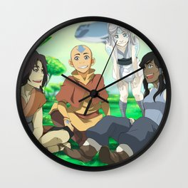 Avatar's Talk Wall Clock