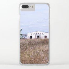 build landscape Clear iPhone Case