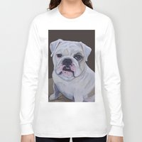 ruby Long Sleeve T-shirts featuring Ruby by Ginny M