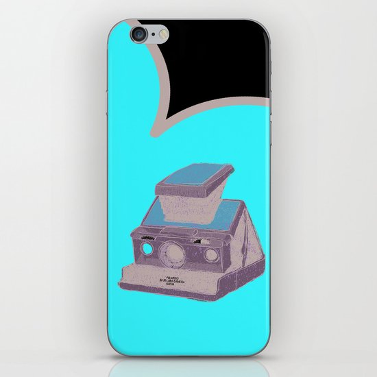POLAROID SX70 iPhone & iPod Skin