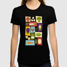 Farm to Table_pattern T-shirt