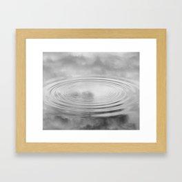 Puddle Reflex Framed Art Print