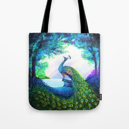 A Majestic Morning Tote Bag