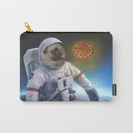 Pugernaut - Pug in Space Carry-All Pouch
