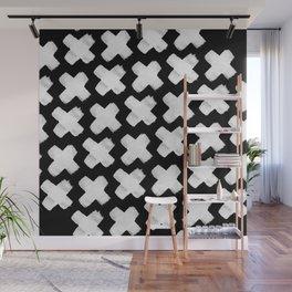 Black xxx Wall Mural