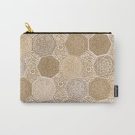 Sandalwood Souk Carry-All Pouch