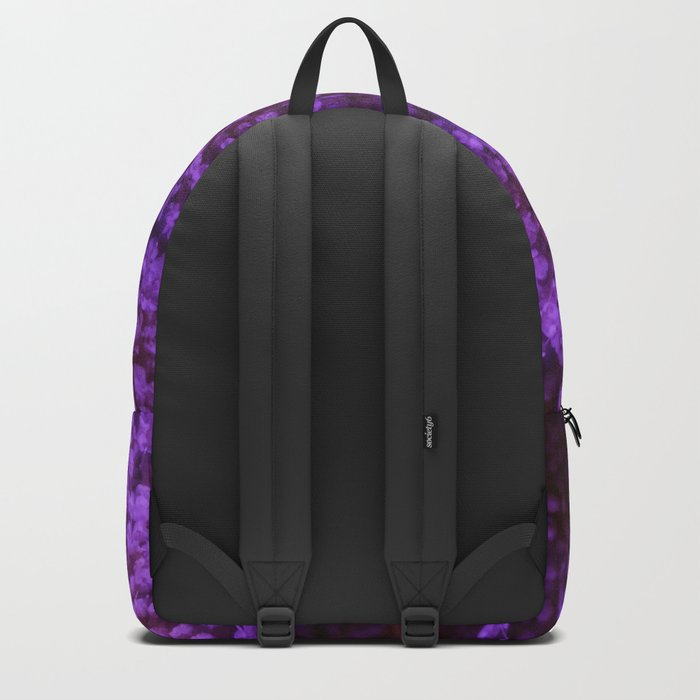 Purple Queen Anne's Lace Landscape Backpack