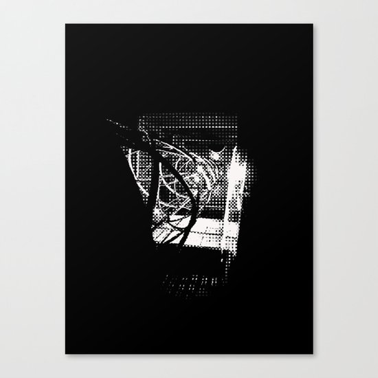 Old Town Elevator Canvas Print