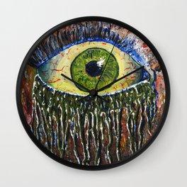 Lonely Eye Wall Clock