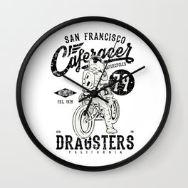 Dragster San Francisco Wall Clock
