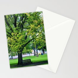 A Little Town Square, Melbourne Stationery Cards