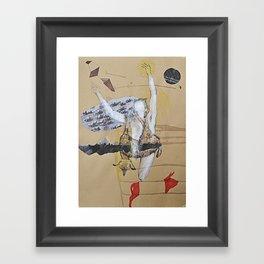 kraft2 Framed Art Print