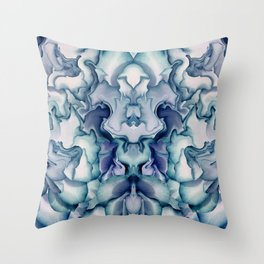 Abstract graphic mirror 8 Throw Pillow