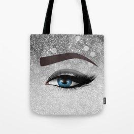 Glam diamond lashes eye #1 Tote Bag