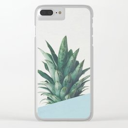 Pineapple Dip II Clear iPhone Case