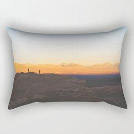 Sunset over the Atacama Desert, Chile Rectangular Pillow