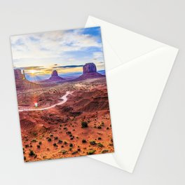 Monument Valley, Utah No. 2 Stationery Cards