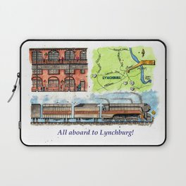 All Aboard to Lynchburg! Laptop Sleeve
