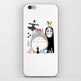 Studio Ghibli Gang iPhone Skin