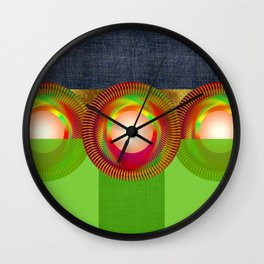 MAGIC PEARLS POCHETTE Wall Clock