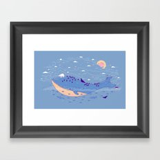 It would of been different Framed Art Print