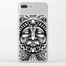 Shamanic trance Clear iPhone Case