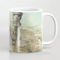 italian Mugs featuring Italian Garden by Emily Dwan
