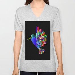 Colorful Flyer Unisex V-Neck