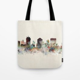 wichita kansas skyline Tote Bag