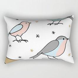 Beautiful Birds Rectangular Pillow