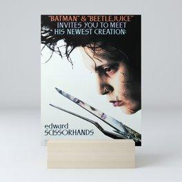 Edward Scissorhands - Movie Poster Mini Art Print