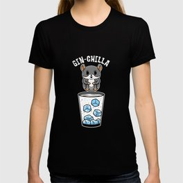 Gin Chilla Chinchilla Jump Cocktail T-shirt