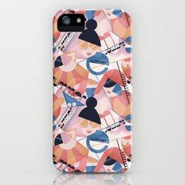 Bauhaus Summer iPhone Case