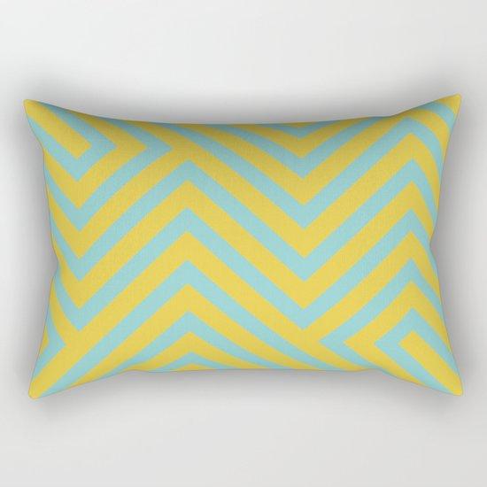 Pastel Labyrinth Rectangular Pillow