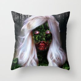 Ghost Of Laura Throw Pillow