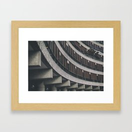 barbican III Framed Art Print