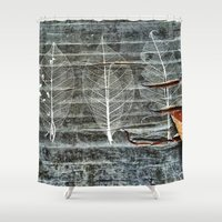 lace Shower Curtains featuring Lace by julipeko