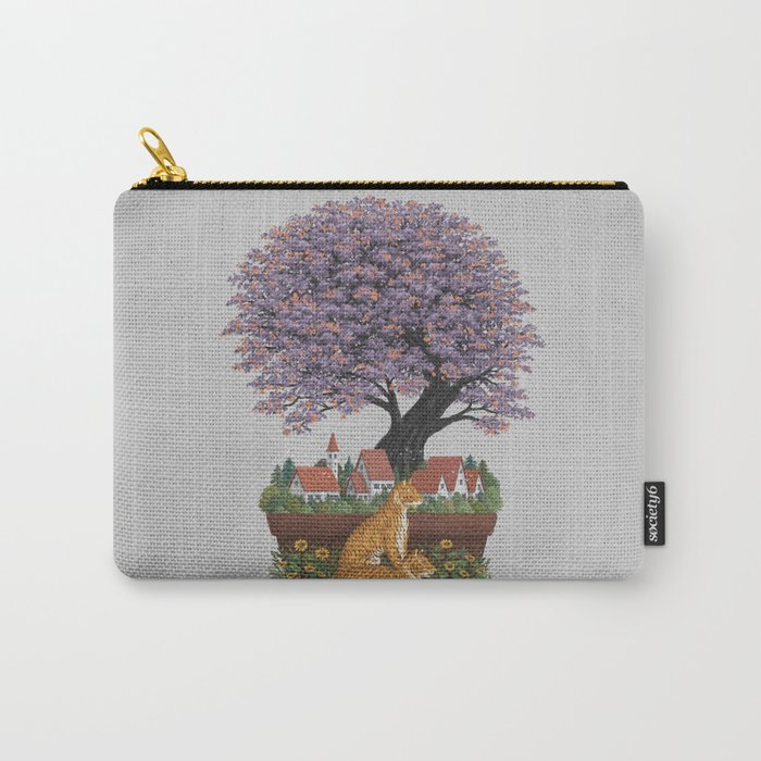 Bonsai Village Carry-All Pouch