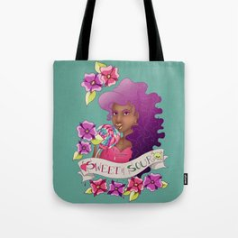 Sweet & Sour Lolipop Tote Bag